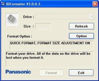 sd formatter v2.o