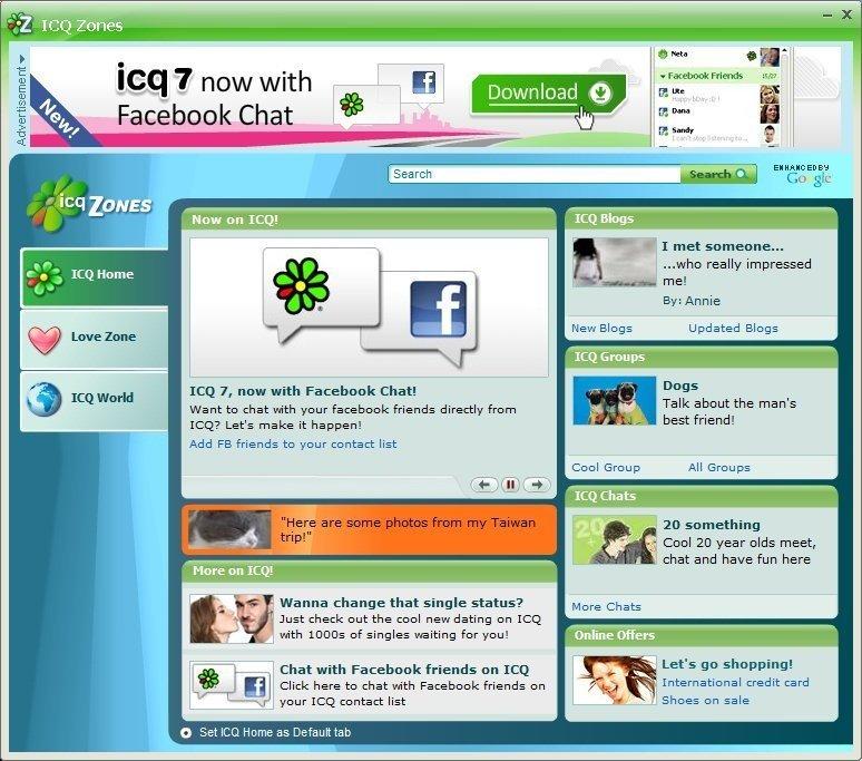 ICQ Zones