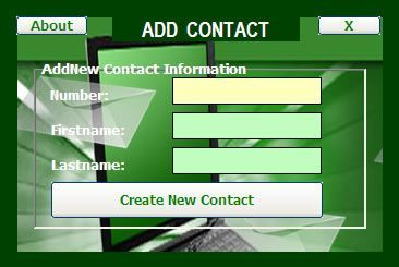 SMS Contact Manager