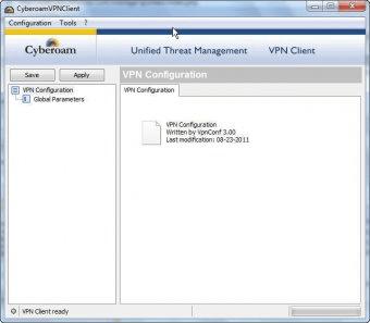 Cyberoam VPN Client 1 3 Download - CyberoamClient exe