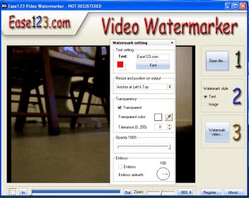 ease123 video watermarker
