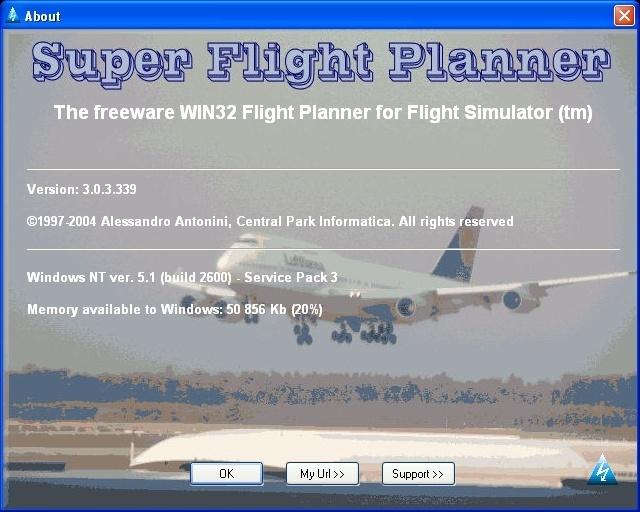 Super Flight Planner Download - Flight planning software for
