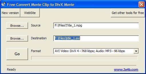 Select Input Video