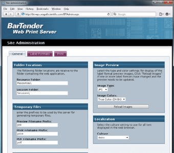 BarTender Web Print Server 9 4 Download (Free) - bartend exe