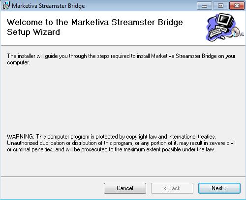 marketiva streamster bridge