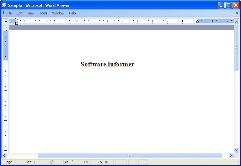 Microsoft Office Word Viewer 11 0 Download (Free) - WORDVIEW EXE