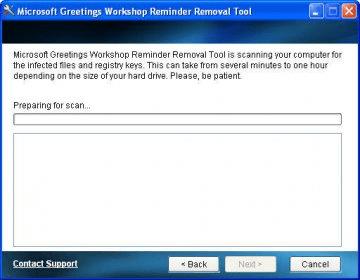 Microsoft greetings workshop reminder removal tool download it main window m4hsunfo