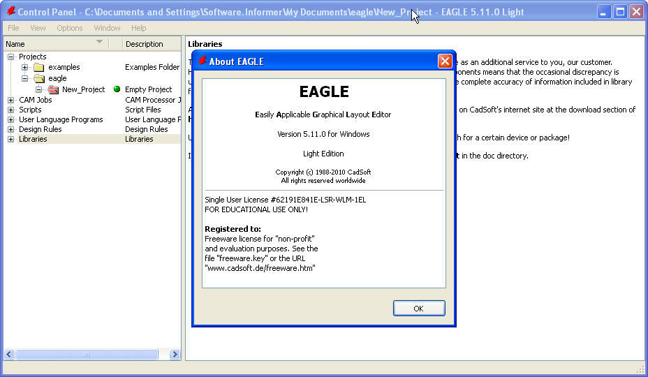 EAGLE by CadSoft Computer GmbH  Get the software safe and easy