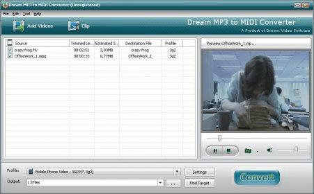 dream mp3 to midi converter mac