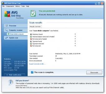 avg offline installer for windows xp sp2