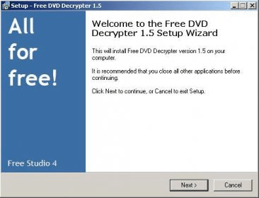 Free DVD Decrypter Download FreeDVDDecrypterexe
