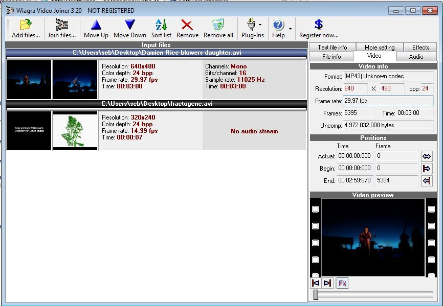 Wiagra Video Joiner 3 1 Download (Free) - WVJ exe