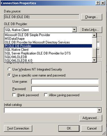 OSISoft PI OLEDB Provider  Get the software safe and easy