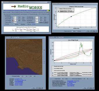 RadioWORKS Download - RadioWORKS: A tool for calculating radio wave ... Main Window