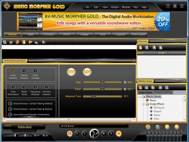 av music morpher gold 4.0.66 gratuit