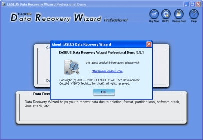 easeus data recovery wizard professional 5.0.1 demo