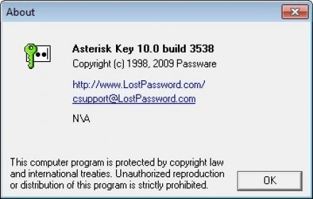 Asterisk Key 9 5 Download (Free) - ariskkey exe