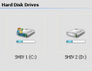 Thumbnail view of drives