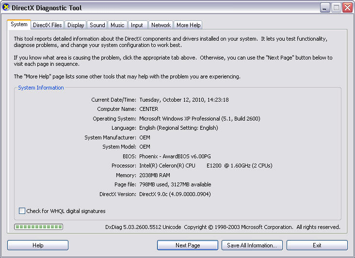 Dxcpl download for windows 10