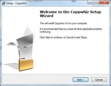 Copywhiz 4 0 Download (Free trial) - Copywhiz exe