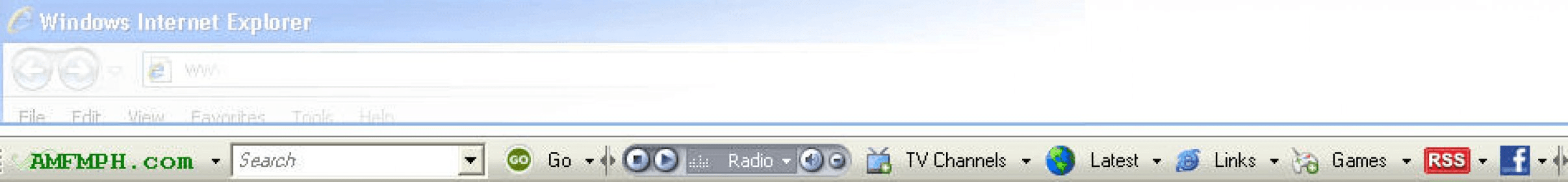 amfmph toolbar