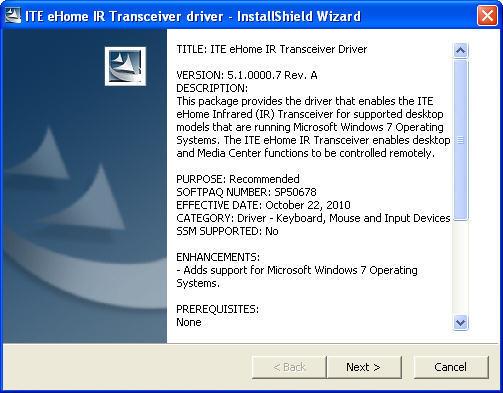 ITE Infrared Transceiver Download - Transceiver for