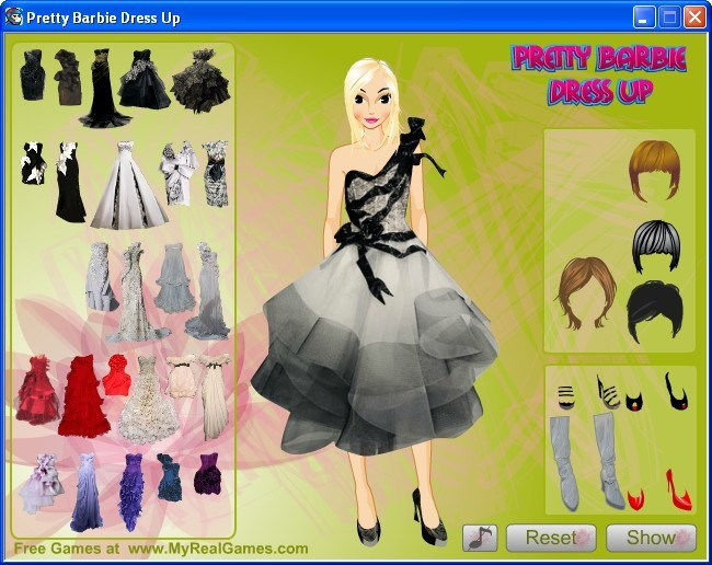 Pretty Barbie Dress Up 1 0 Download Free Game Exe