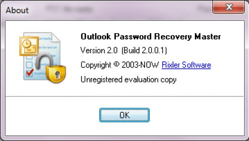 outlook password recovery master version 3.1 crack