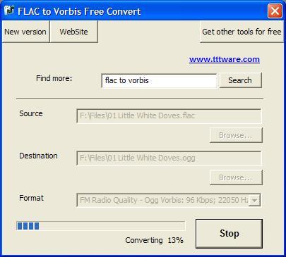 FLAC to Vorbis Free Convert Download - Extremely simple free