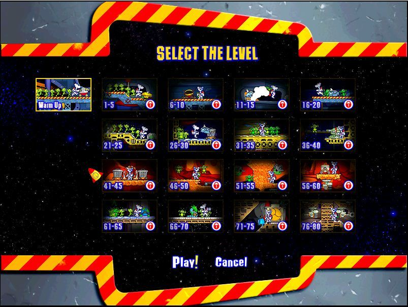 Select the level