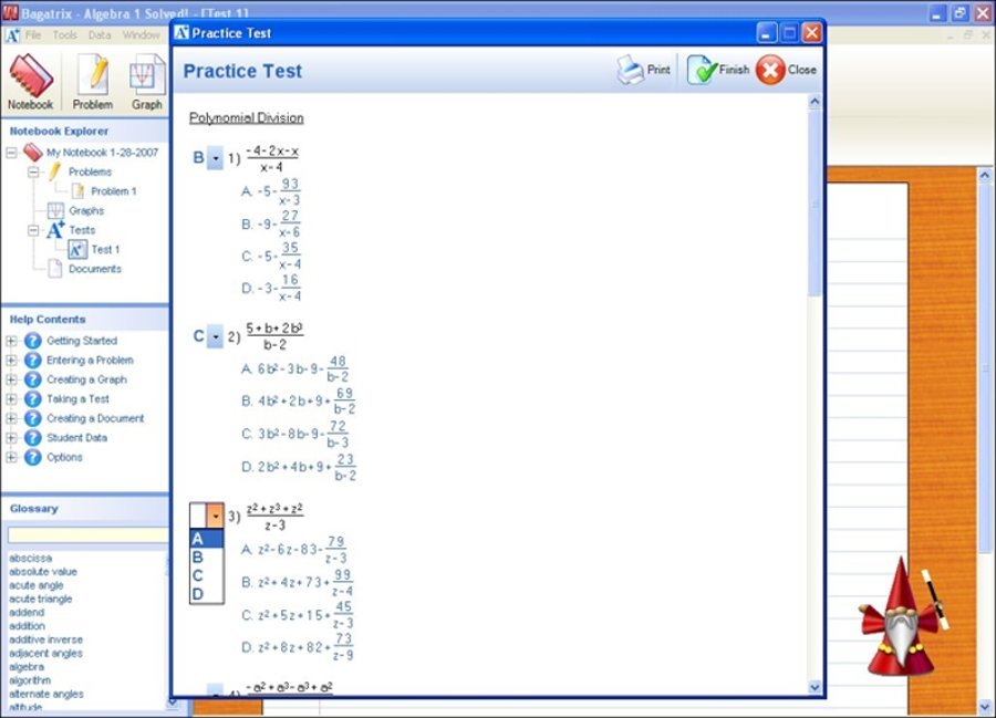 Create tests and quizzes