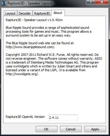 rapture3d 2.4.9 game