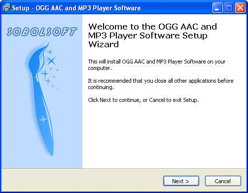 OGG AAC and MP3 Player Software 1 0 Download (Free trial