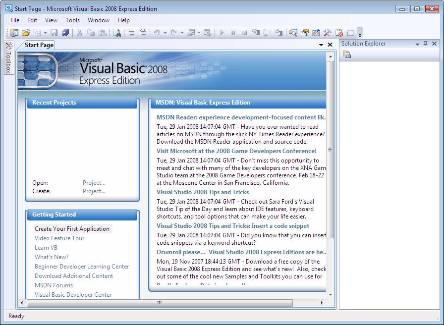 visual basic express 2008 edition free download
