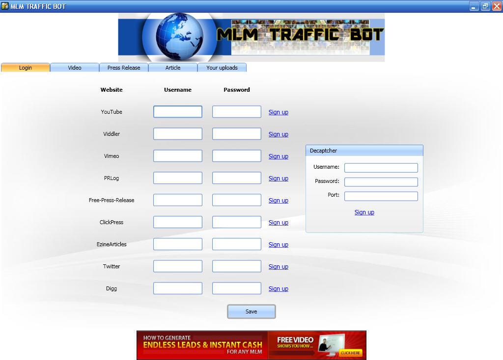 MLM TRAFFIC BOT - Software Informer  MLM TRAFFIC BOT is a powerful