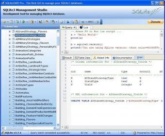 sqlite2009 pro enterprise manager