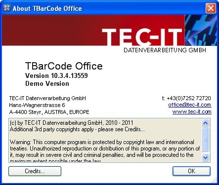 TEC-IT TBarCode Office  Get the software safe and easy