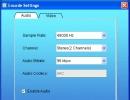 Encode Settings