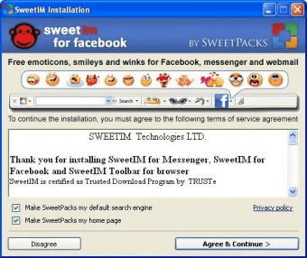 sweetim for facebook 2012