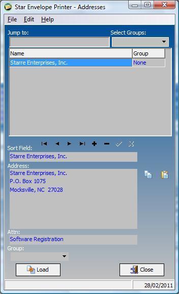 Address Database
