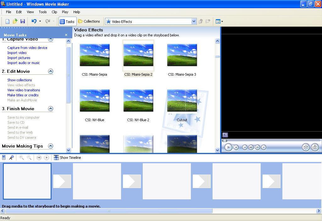 windows movie maker plugins effects free download
