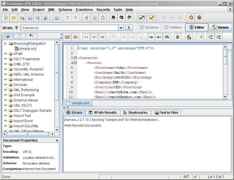 Exchanger XML Lite 3 2 Download (Free)