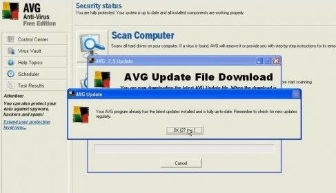 7.5 anti avg download virus