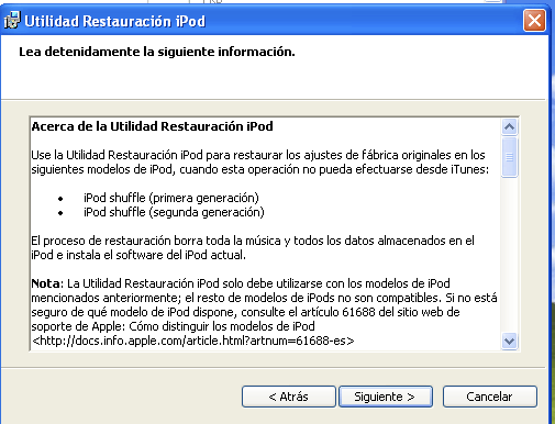 iPod Reset Utility 1 0 Download (Free) - iPodResetUtility exe