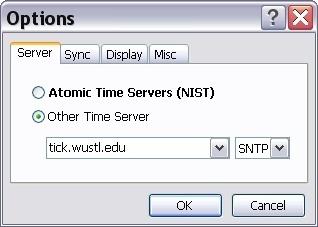 Options - server