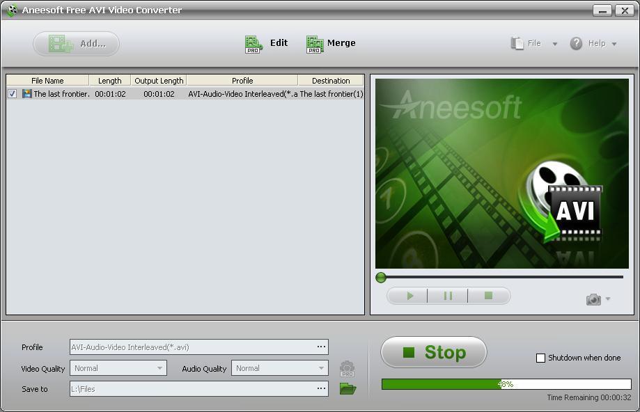 Video Conversion in Progress