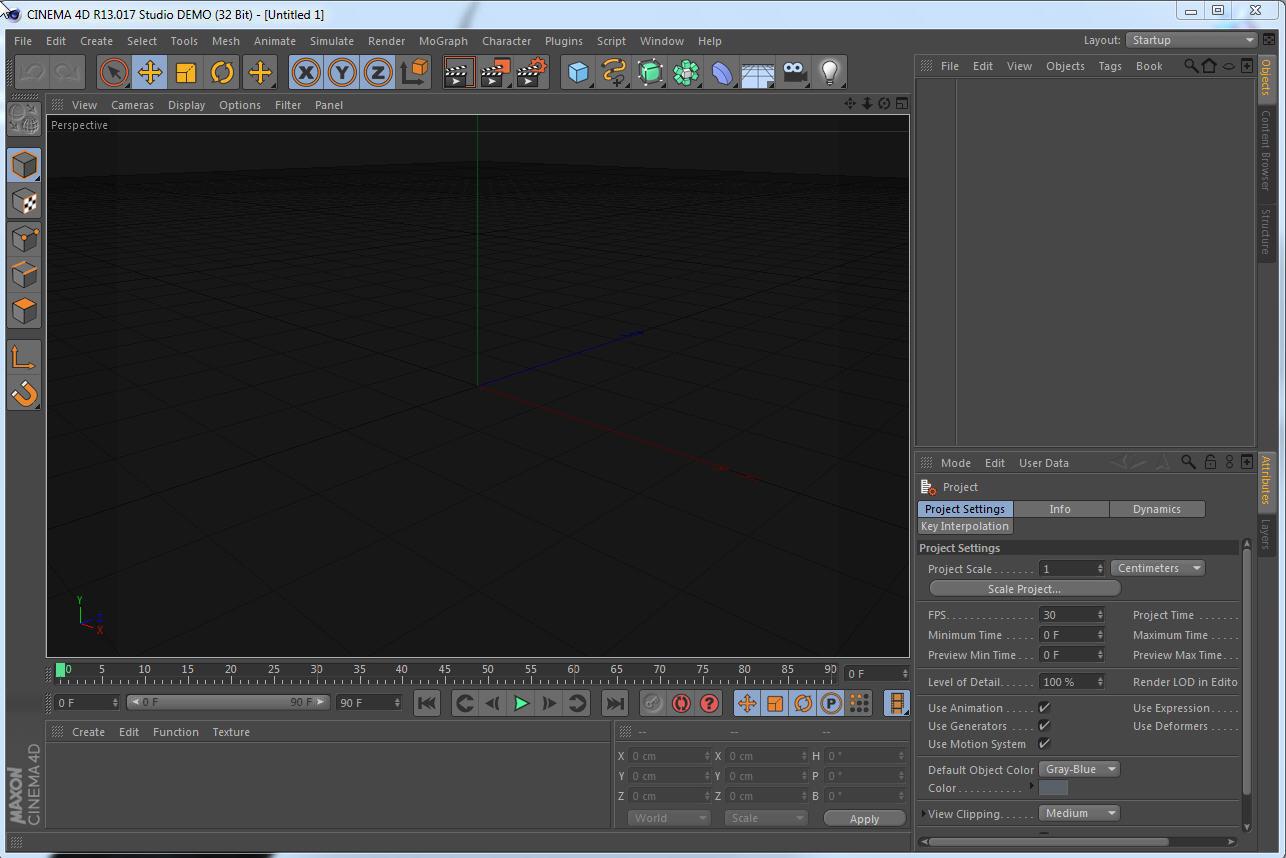 Powerful professional 3D video animator
