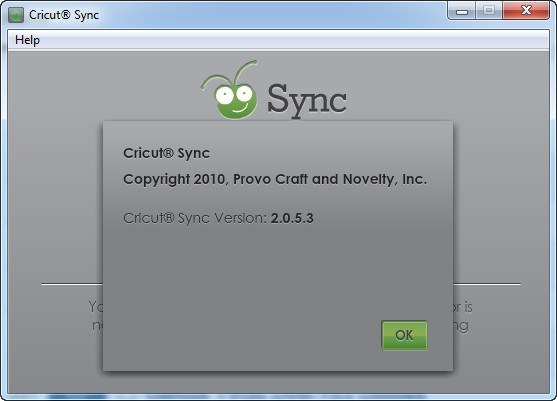 CricutSync Download - Program that allows you to update your Cricut