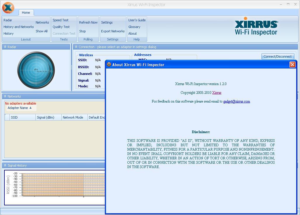 Xirrus Wi-Fi Inspector 1 2 Download (Free) - Xirrus Wi-Fi