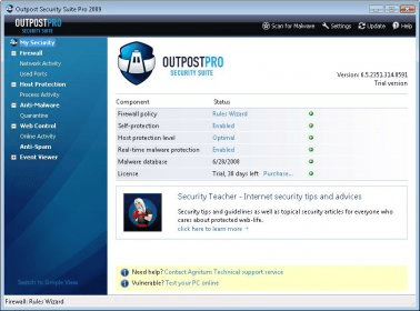 Outpost Security Suite Pro